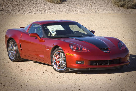 GM Auctions 2008 Corvette 427 Edition to Benefit Red Cross Haiti Relief Effort
