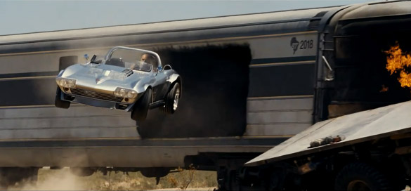 Corvette Grand Sport featured in the Fast Five Super Bowl Commercial