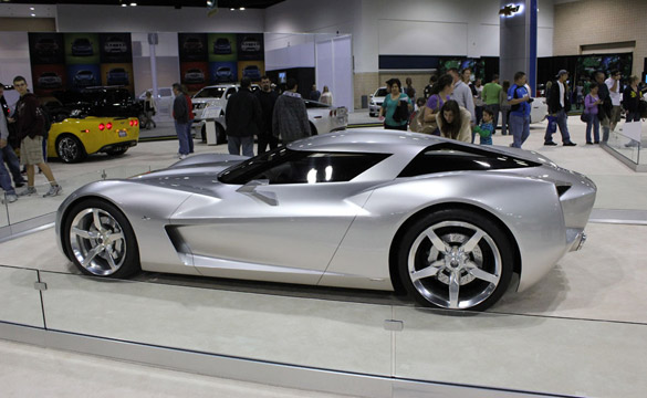 Up Close and Personal with the Corvette Stingray Concept