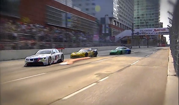 Corvette Racing Wins GT Pole for Baltimore Street Race