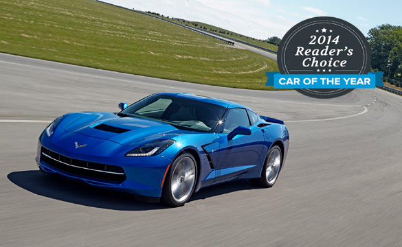 AutoGuide.com Proclaims Reader's Choice Car of the Year is the 2014 Corvette Stingray