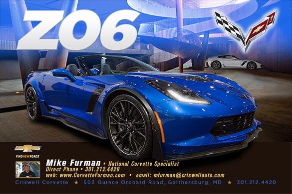 National Corvette Seller Mike Furman
