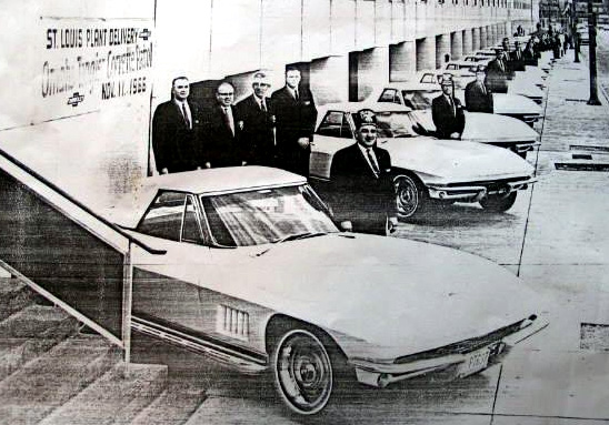 1967 Shriner Corvettes at the St. Louis Factory