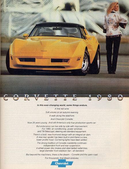 The 1980 Corvette