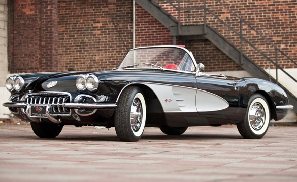 January 2011 Corvette Auction Schedule