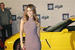 Carmen Electra and the Z06 Corvette
