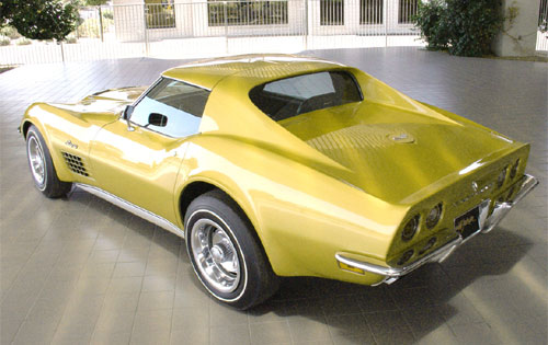 1971 Corvette ZR2 Coupe