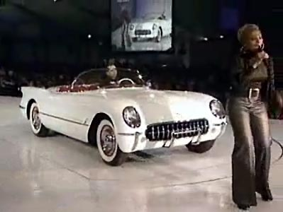 1953 Corvette and Mary J. Blige