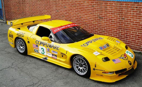 Corvettes on eBay: Chassis #005 2001 Corvette C5R