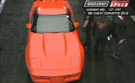 1989 Corvette ZR-2 Sells at 2009 Barrett-Jackson