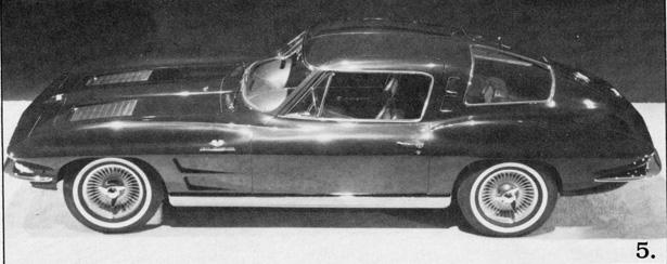 GM Archives Corvettes Almost 4 Seater 1963 Split Window