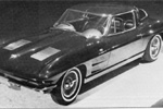 Corvette's Almost 4-Seater 1963 Split Window Coupe