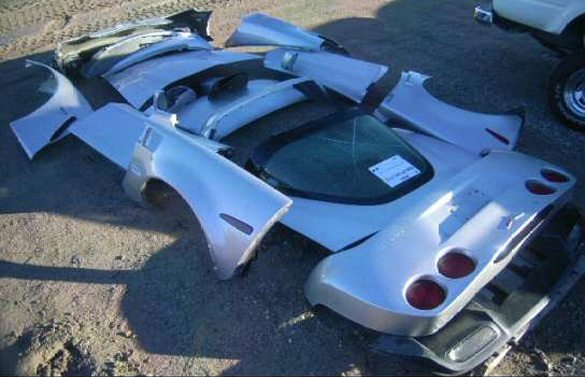 [PIC] '07 Corvette Z06 Theft Recovery Is Missing A Few Items