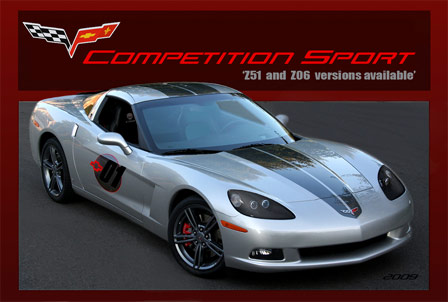 2009 Competition Sport Corvette