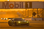 The No. 4 Corvette at the 2006 12 Hours of Sebring