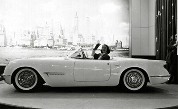 Corvette Debuts at GM's 1953 Motorama 58 Years Ago Today