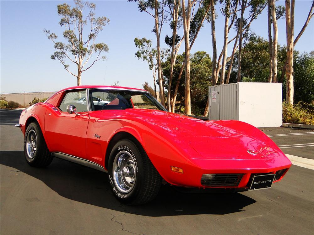 Barrett Jackson 2011 1973 Corvette To Be Auctioned For