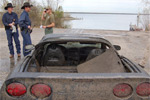 Stolen C5 Corvette Sent to Watery Grave