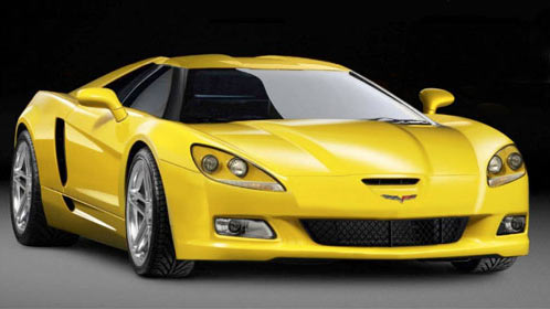 Artist Rendering of the C7 Corvette