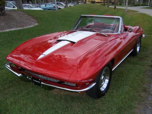 Gus Grissom's 1967 Corvette