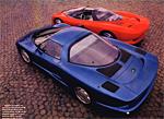 Corvette Indy and CERV III