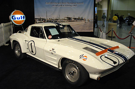 Gulf One 1963 Corvette Z06 Race Car