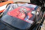 C2 Corvette with unique hardtop. Notice the radio delete?