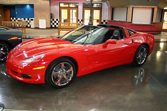 Corvette Museum Offering $10 Raffle for a New 2010 Corvette