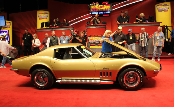 1969 L89 Corvette Sells for $62,000 at 2011 Mecum Kissimmee Auction