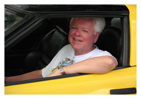 Dave McLellan in a Corvette ZR-1