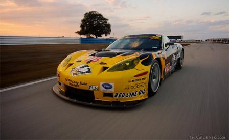 LG Motorsports  GT2 Corvette at Sebring