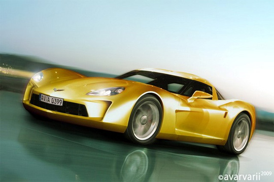 Corvette C7 Rendering by Avarvarii
