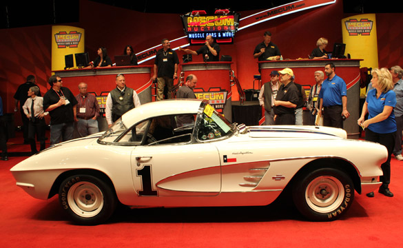 1961 Corvette Racer Sells for $55,000 at Mecum's 2011 Kissimmee Auction