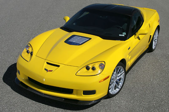 January 2010 Corvette Sales