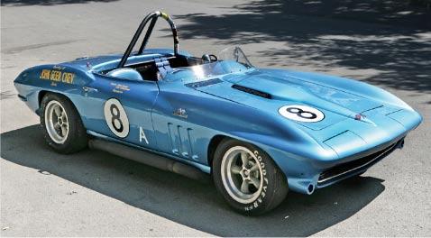 1965 Caplan/Gulstrand Corvette Racer