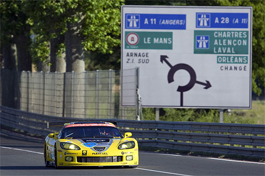 Corvette Racing Receives Invitation to Race in the 24 Hours of Le Mans