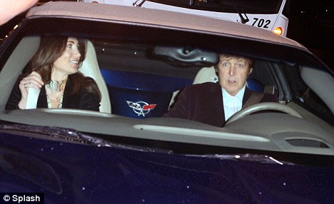 Long and Winding Road: Paul McCartney's Blue C5 Corvette