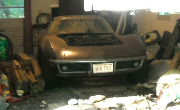 1969 Corvette Barn Car Found in Maryland