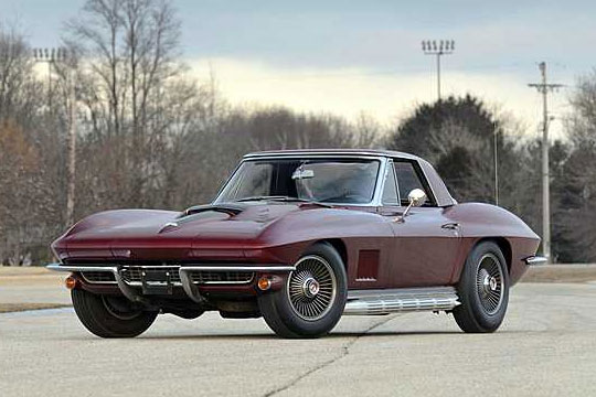 Mecum's Kissimmee Corvette Auction Pulls $6.7 Million in Sales