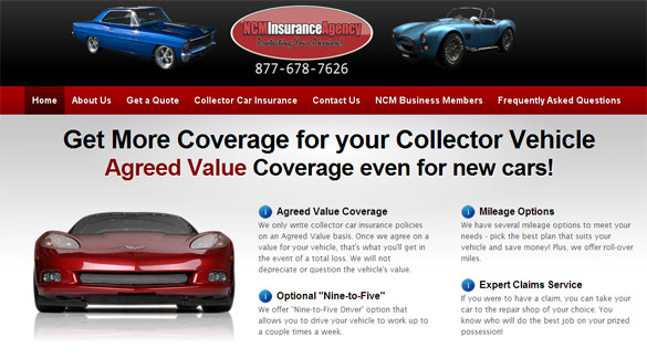 Corvette Museum's Insurance Agency Launches New Website
