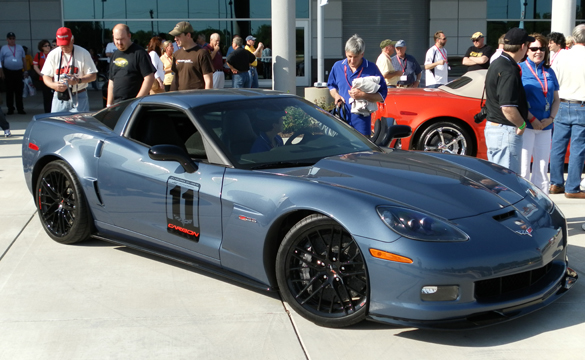 GM: Orders for 2011 Corvette Z06 Carbon Opens on February 21st