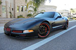 Corvettes on eBay: Murdered Out 2004 Corvette Z06
