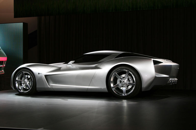 transformers corvette stingray concept goes topless in beverly hills corvet. Cars Review. Best American Auto & Cars Review