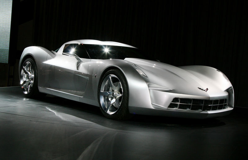 Transformers Corvette Stingray Concept Goes Topless in ...