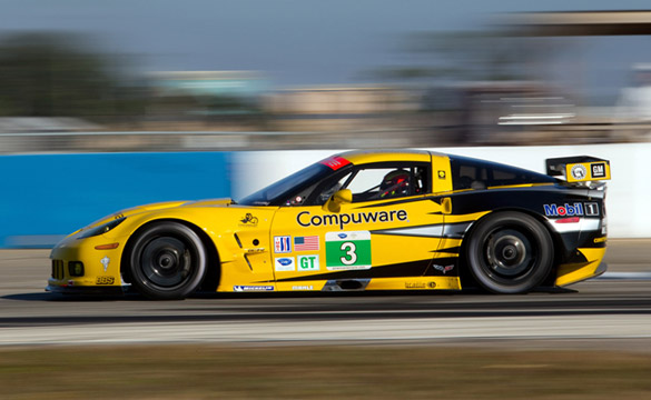 Corvette Racing Sets the Pace in ALMS Winter Test