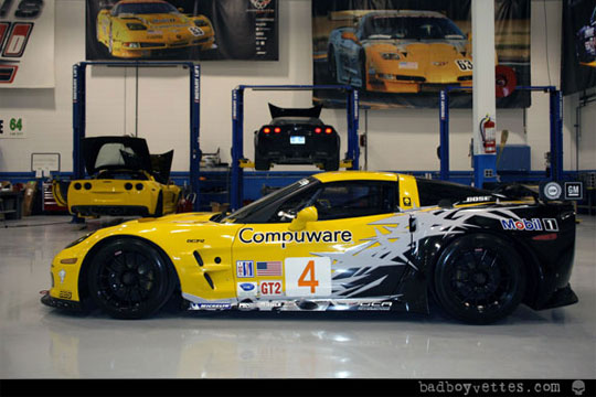 Sneak Peak of Corvette Racing's 2010 Livery for the C6.R