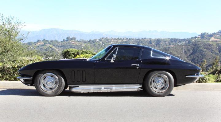 Guitarist Slash To Auction 1966 Corvette Coupe Corvette