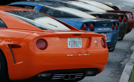 Callaway Corvettes at the 2009 Supercar Weekend