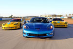 Official Photos of the Corvette Racing C6.Rs at Sebring Test