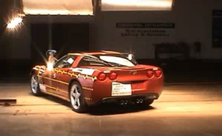 Corvette Crash Test